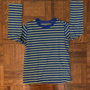 Boden blue and yellow tee